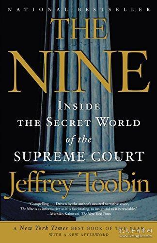 九人:美国*高法院风云 英文原版 The Nine-