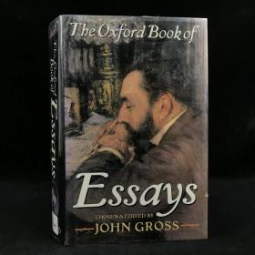 1991年,约翰·格罗斯《牛津随笔集》,厚本精装,The Oxford Book of Essays by John Gross