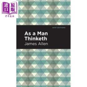 做你想做的人 英文原版 As A Man Thinketh James Allen 励志随笔-