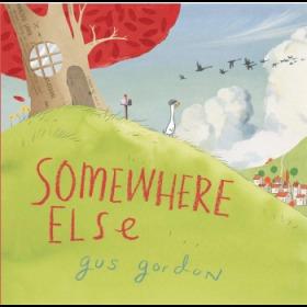 乔治不能说的秘密 英文原版 Somewhere Else 精装 获奖故事绘本 亲子绘本 3-8岁-