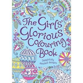 女孩的填色 英文原版 The Girls Glorious Colouring Book-