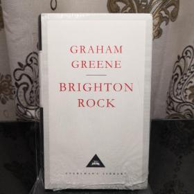Brighton Rock 布莱顿硬糖/布莱顿棒糖 Graham Greene 格雷厄姆·格林 everyman's library 人人文库 英文原版 布面封皮琐线装订 丝带标记 内页无酸纸可以保存几百年不泛黄