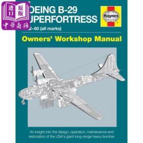 """波音B-29轰炸机""""超级空中堡垒"""" 英文原版 Boeing B-29 Superfortress-"""