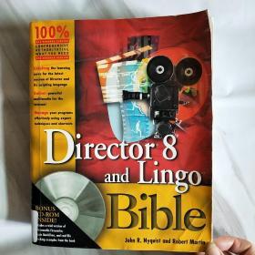 英文原版Director 8 and Lingo Bible