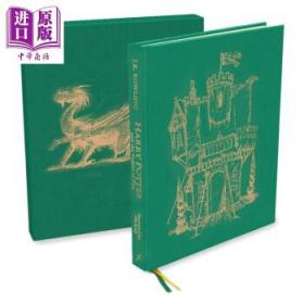 Harry Potte&Goblet of Fire Deluxe英文原版 哈利波特与火焰杯豪华精装-