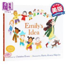 Marta Alvarez Miguens:艾米莉的点子 Emily'sIdea 4~6岁 英文原版-
