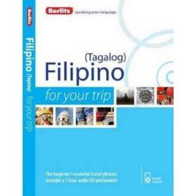 旅游菲律宾语 英文原版 Berlitz Language Filipino-