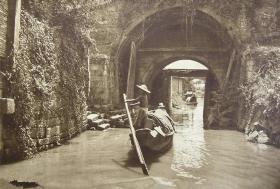 一百年前的江南水乡风情老照片19张5吋的gxs