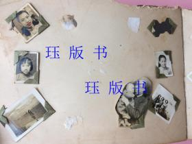 (补图)上海美女民国相册,约170张老照片,全部一起。