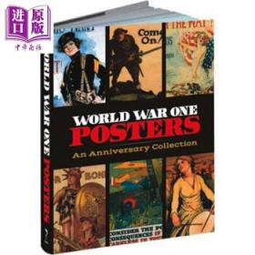 World War One Posters 英文原版 第一次世界大战海报:周年纪念收藏-