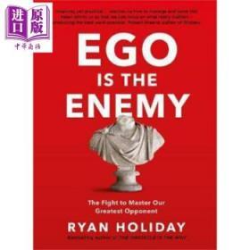 绝对自控:硬派自我管理手册 英文原版 Ego is the Enemy Ryan Holiday-