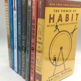 英文版经济学管理系列 必读8本经管类英文原版书籍