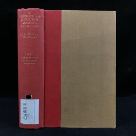 1959年,阿勒代斯·尼科尔《英国戏剧史 1660-1900(卷6):1660-1900年在英国生产或印刷的剧本目录》,剑桥大学出版,漆布精装,A History of English Drama b