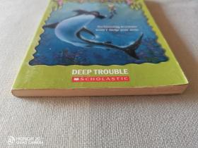 鸡皮疙瘩英文Goosebumps Deep Trouble 英文 原版 鸡皮疙瘩 大麻烦