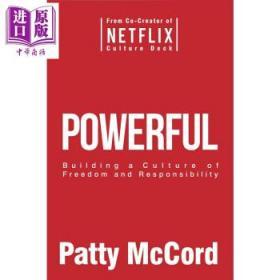 奈飞文化手册 英文原版Powerful Patty McCord帕蒂麦考德颠覆之作 企业管理类书-