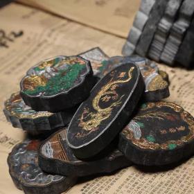 7080年代集锦古墨旧墨精品老胡开文实用老墨锭陈墨古玩条块收藏墨
