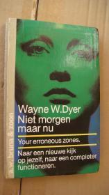 NIET MORGEN MAAR NU 荷兰语原版 精装