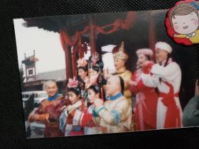 1999版《还珠格格》20多年前原版照片刘丹、赵薇、苏有朋、林心如、周杰、张铁林、戴春荣、牟凤彬等合影1张-6组,