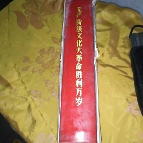无产阶级文化大革命胜利万岁  北京