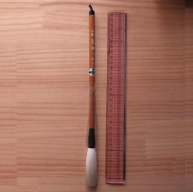 日本传统工艺三藏笔墨潮三藏制高级羊毫毛笔1根中锋 N905