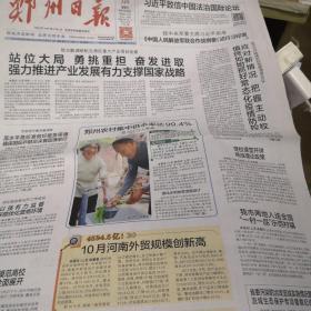 郑州日报2020年11月14日