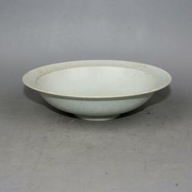 湖田窑影青釉开片薄胎碗