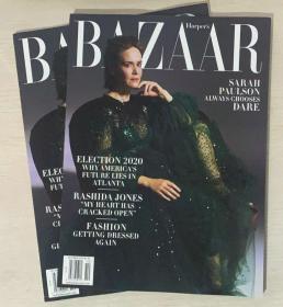 HARPER`S BAZAAR 美国版芭莎2020年10月 英文时尚女士服装杂志