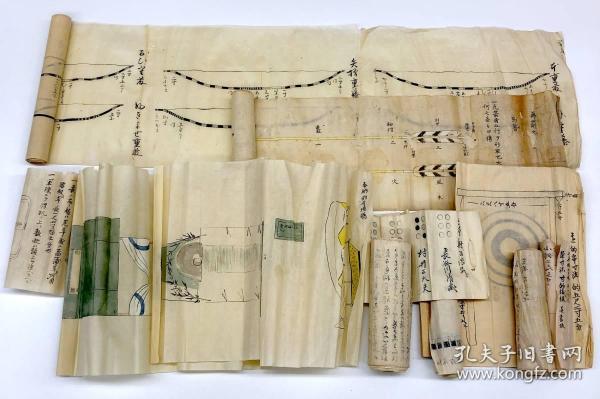 《小笠原流弓术传书》几种,江户时代弓道弓法、射术、武道、武术