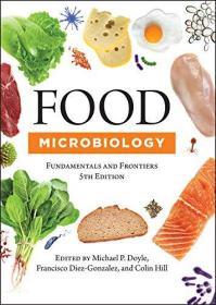 预订2周到货  Food Microbiology: Fundamentals and Frontiers, Fifth Edition (ASM Books)  英文原版  食品微生物学
