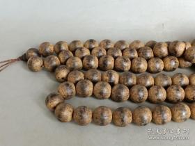 乡下收的 一串沉香108颗佛珠
