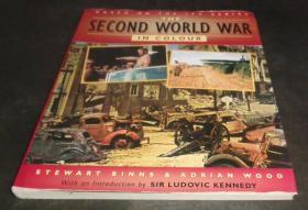2手英文 The Second World War in Colour 二战彩色 sgb21