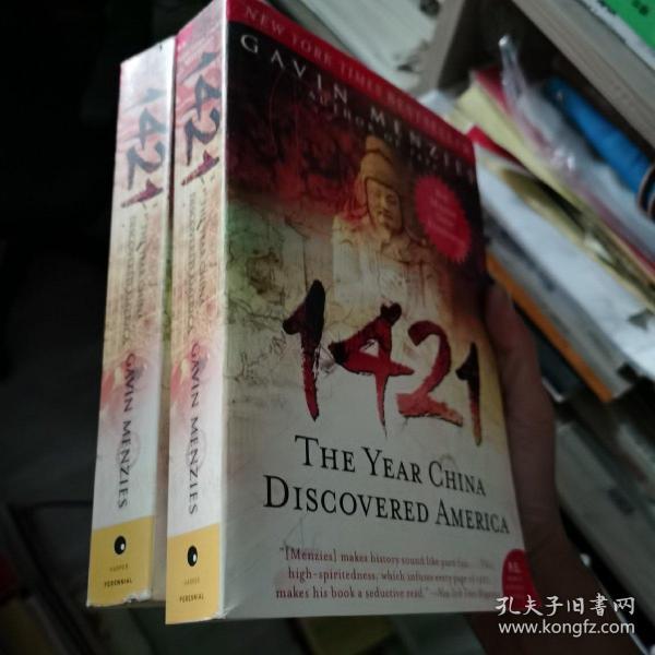 1421: The Year China Discovered America  1421:中国发现美洲