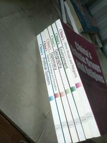 中国民族与宗教(英文版)(6册见图合售)
