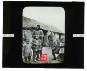 清代民国玻璃幻灯片-----民国时期中国河南农村玻璃幻灯