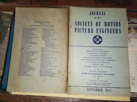JOURNAL OF THE SOCIETY OF MOTION PICTURE ENGINEERS  SEPTEMBER,            1948电影工程师协会杂志1948年9月号