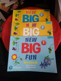 NEW BIG FUN  Student's Book+Workbook【3册合售,附光盘】