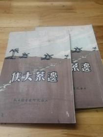 1930年初版武侠小说《边荒大侠》一套4册