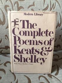 The complete poems of Keats and Shelley -- 《济慈与雪莱诗歌全集》现代文库精装本 厚重