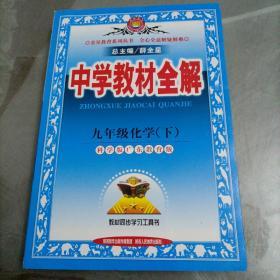 初级中学教材全解:九年级化学下册(科学版广东教育版)【全新】