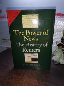 英文原版 新闻的力量:路透社的历史 The Power of News: The History of Reuters, 1849-1989 (Hardcover)