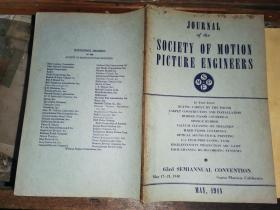 JOURNAL OF THE SOCIETY OF MOTION PICTURE ENGINEERS  MAY,              1948电影工程师协会杂志1948年5月号