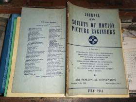 JOURNAL OF THE SOCIETY OF MOTION PICTURE ENGINEERS  JULY,      1948电影工程师协会杂志1948年7月号