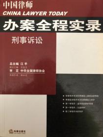 中国律师 办案全程实录 刑事诉讼