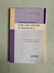 Communications on PURE AND APPLIED MATHEMATICS