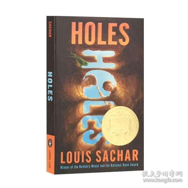 Holes寻宝小子 英文原版