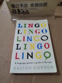 术语 欧洲语言指南 英文原版 Lingo A Language Spotter's Guide to Europe 语言的形成与发展