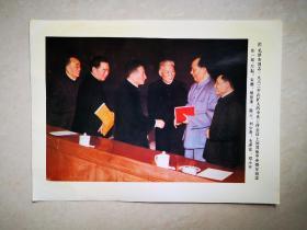 老照片:毛泽东同志1962年同:朱德.周恩来.陈云.刘少奇.邓小平在一起