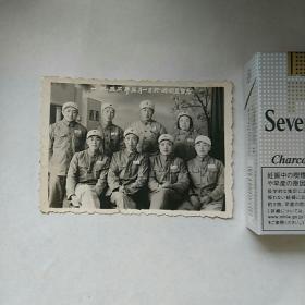 老照片,军人,合影,一九五三年於满洲里留念