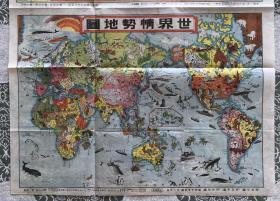 世界情势地图(稀少)