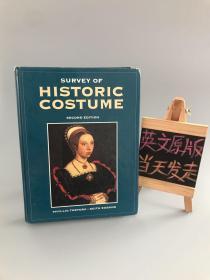 SURVEY OF HISTORIC COSTUME(历史服饰调查)精装
